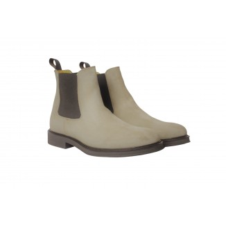 Chelsea Boots Cam Taupe Gomma